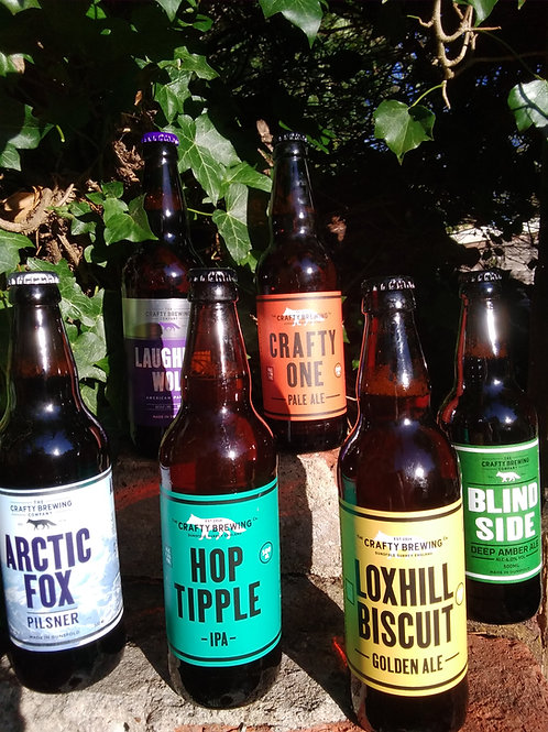 The Crafty Brewing Company 500ml Bottles - various