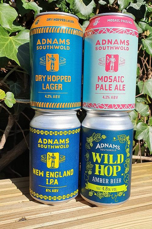Adnams 330ml craft cans - various