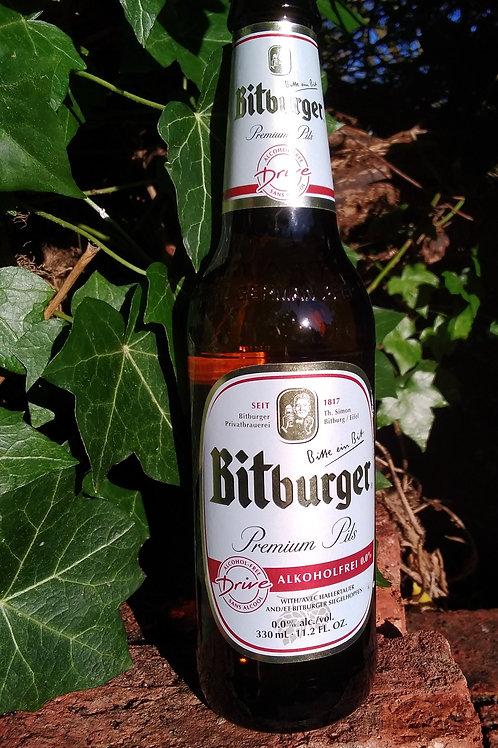 Bitburger Drive 0.05% 330ml bottle