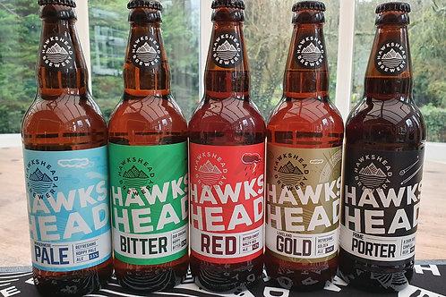 Hawkshead Ales 500ml bottles - various
