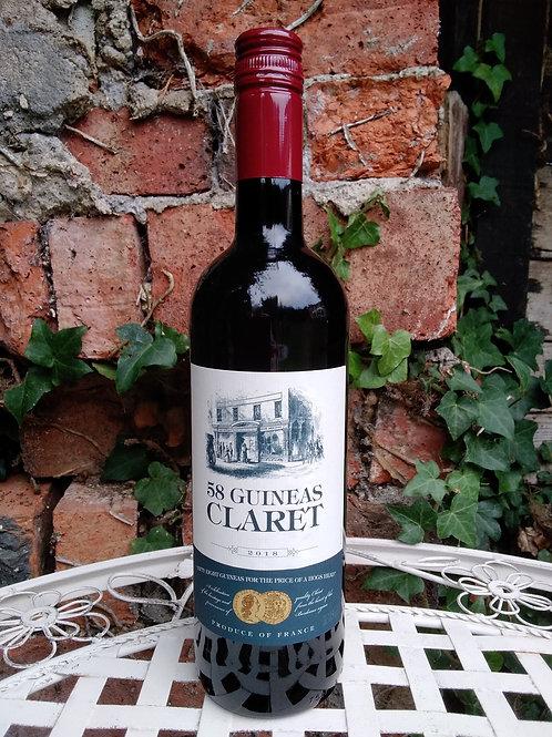 Bordeaux Claret, 58 Guineas, France
