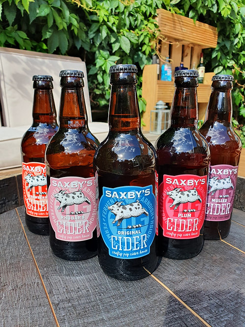 Saxby's Cider 500ml bottle - various flavours