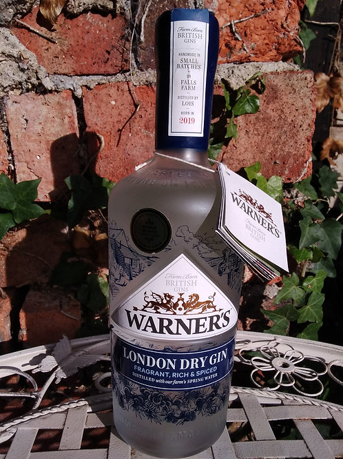 Warner's London Dry Gin 70cl