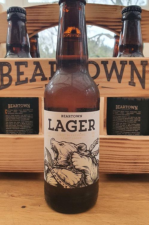Beartown Lager 330ml bottle