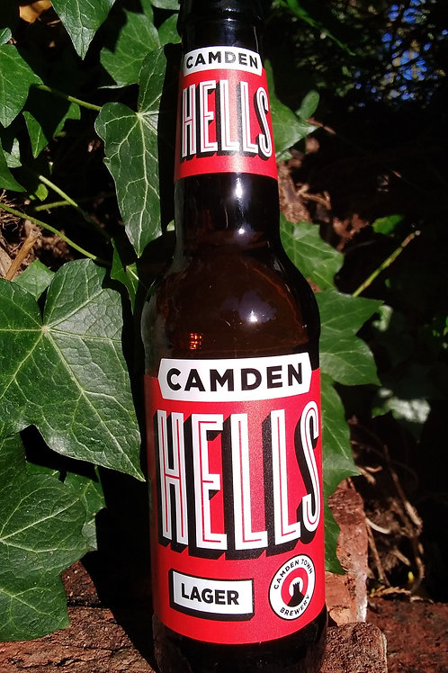 Camden Hells 4.6% 330ml can / bottle