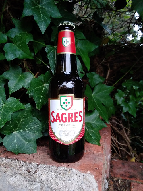Sagres 5% 330ml bottle