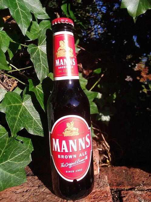 Manns Brown Ale 2.8% 275ml bottle 6pk