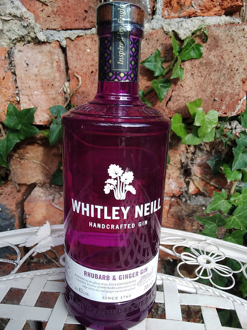 Whitley Neill Rhubarb and Ginger Gin 70cl