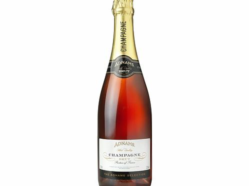Champagne Rosé 75cl, Adnams – France