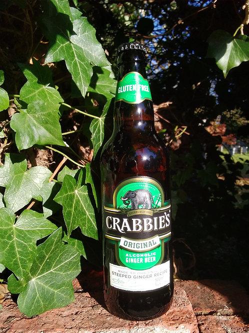 Crabbies Alcoholic Ginger Beer 4% 500ml 12 Bottles