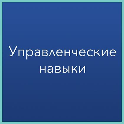 Управленческие навыки (конструктор знаний)