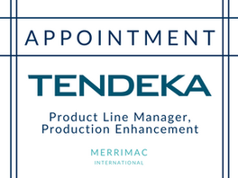 Appointment for Tendeka