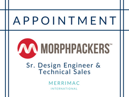 New Appointment for MorphPackers
