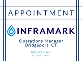New Appointment for Inframark