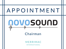New Appointment for Novosound