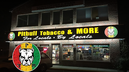 Pitbull Tobacco Smoke Shop Store Front
