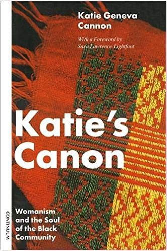 Katie's Canon: Womanism and the Soul of the Black Community