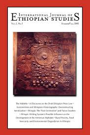 International Journal of Ethiopian Studies Vol 1. No.1