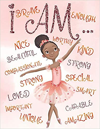 I Am: Positive Affirmations for Kids Coloring Book