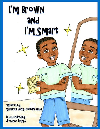 I'm Brown And I'm Smart Coloring Book