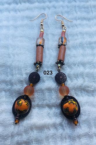 Mariama in Ghana Earrings 023