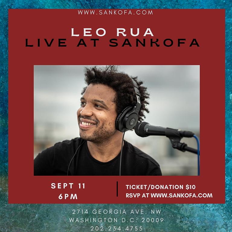 Leo Rua  Live at Sankofa