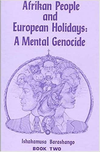 Afrikan People and European Holidays Book two