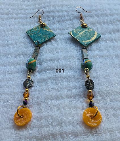 Mariama in Ghana Earrings 001