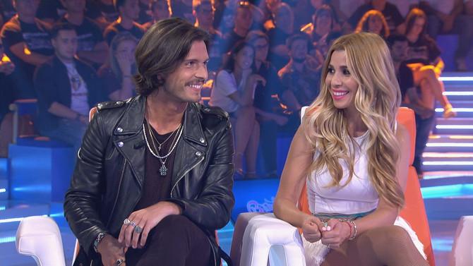 Natalia y Fredi Leis animaron al público de Bamboleo con su mejor música