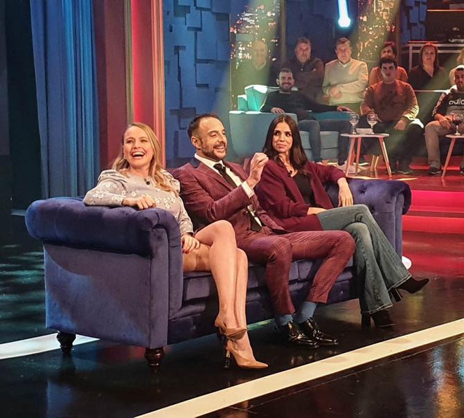 Land Rober se situó ayer en un 18% de share en un programa que contó con las actrices Elena Furiase