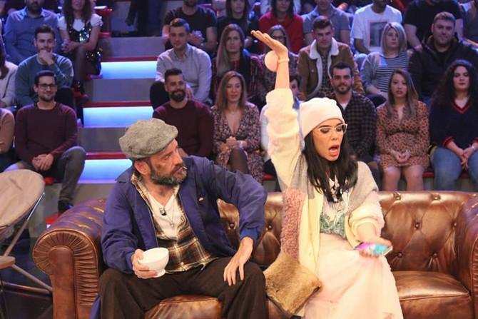 La cantante Beatriz Luengo y el actor Fede Pérez comparten escena y risas en Land Rober