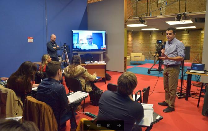 La Fundación Araguaney-Puente de Culturas y Atresmedia celebran un curso sobre edición y presentació