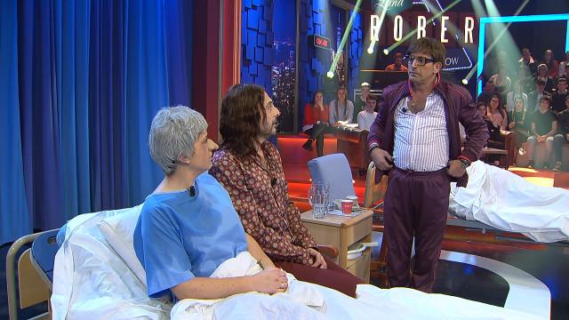 El humor no para en Land Rober que ayer recibió al carismático actor Antonio Garrido