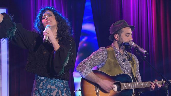 Lucía Pérez y Xabier Vizcaíno y la compositora Patricia Moon ponen la música a la noche de Bamboleo,