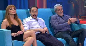 Cristina Castaño y Carlos Blanco, partícipes del humor de Land Rober que superó ayer un increíble 21