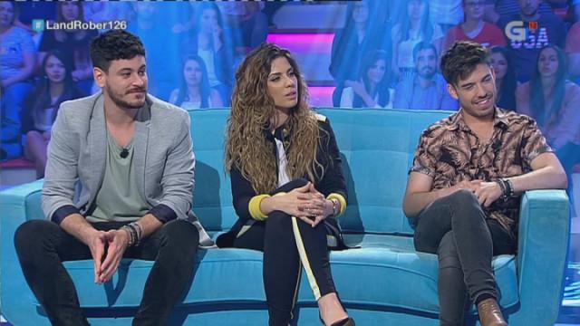 Los triunfitos gallegos –Roi, Miriam y Cepeda– pasan una noche divertida en Land Rober, que consigui