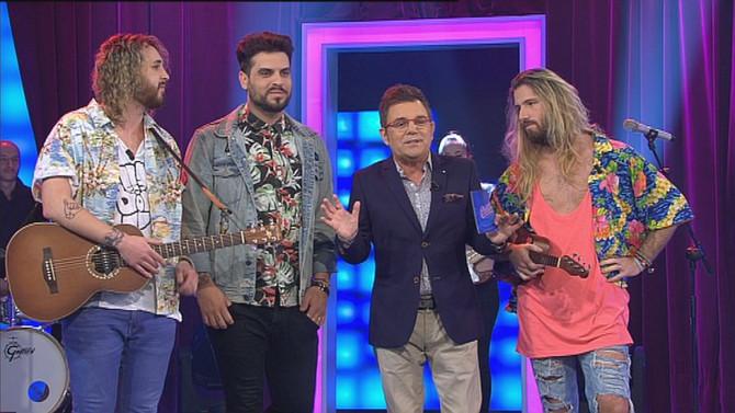"""El grupo Bombai, el dúo gallego Esteban & Manuel y la cantante Yhadira elevan a """"Bamboleo"""" a los"""
