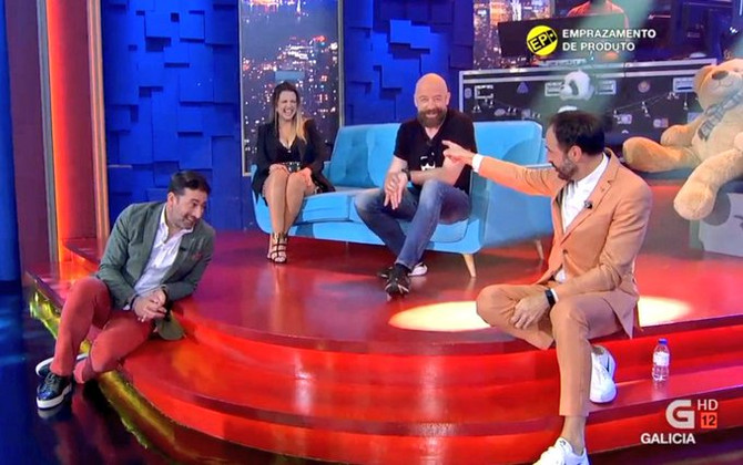 Goyo Jiménez y Antonio Garrido, risas y emociones en Land Rober
