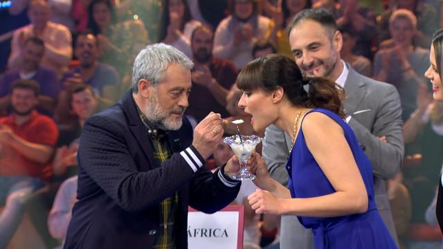 Los actores Ledicia Sola y Carlos Blanco compartieron plató y risas en el último Land Rober