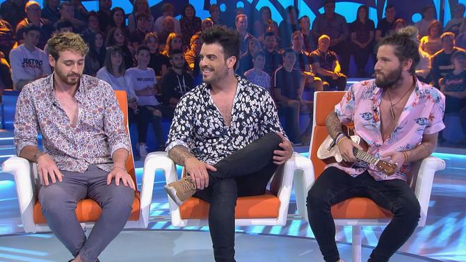 El grupo valenciano Bombai animó la velada musical de Bamboleo, que registró un 12% de audiencia med
