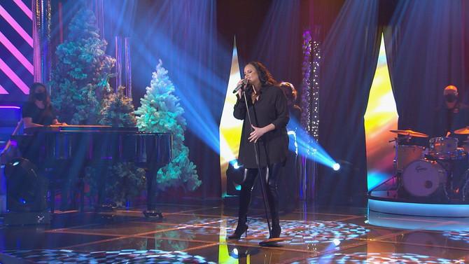 Shaila Dúrcal, Panorama y los Jinetes del Trópico en el Bamboleo de Navidad