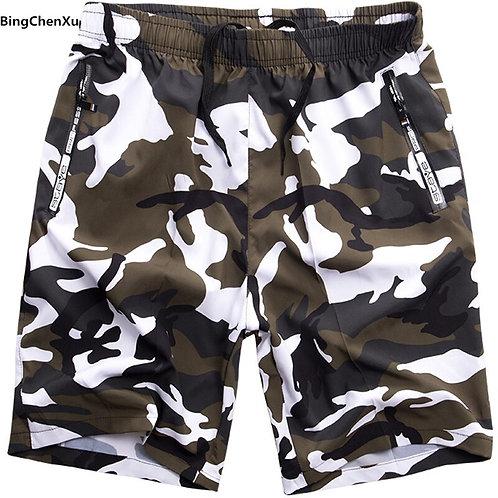 Big Size Camouflage Beach Boardshorts Men