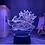Thumbnail: NARUTO Gaara Figure Night Light LED Color for Child  Desk Lamp