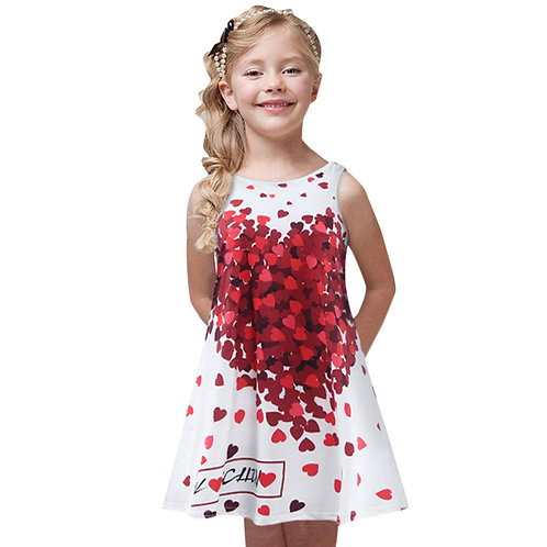 Toddler Girls Summer Princess Dress Kids