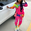 Thumbnail: Two Piece Outfits Tie Dye Set for Women Top and Pants Tracksuit Plus Size