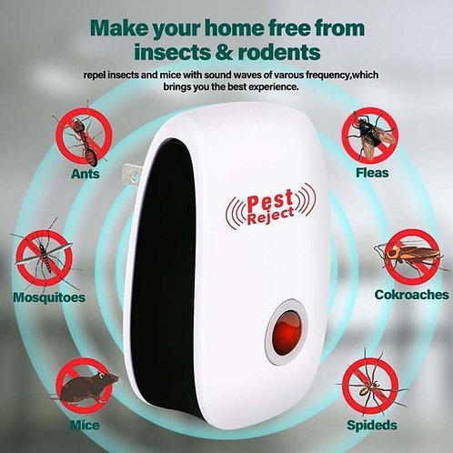Ultrasound Electronic Mosquito Repellent Household Insect Mice Repeller