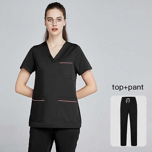 Nurse Uniform Women Scrubs Set