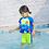 Thumbnail: Children Detachable  Floating Swimwear