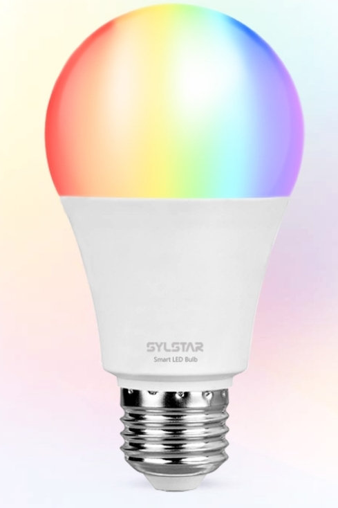 SYLSTAR Smart WIFI Light Bulb Multi Color - Voice Control
