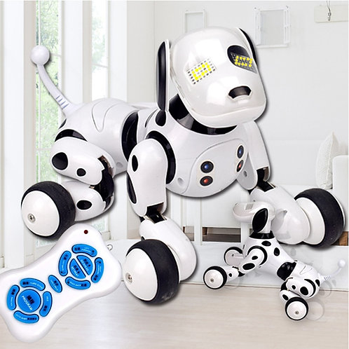 RC Robot Dogs Stand Walk Cute Interactive Intelligent Dog Robot Toy